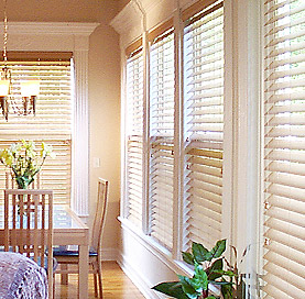 Room Mates Inspire 2 Premium Finish Faux Wood Blinds